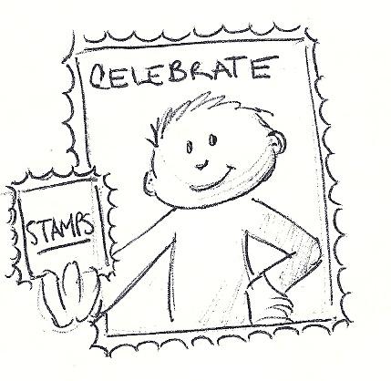 Celebrate stamps
