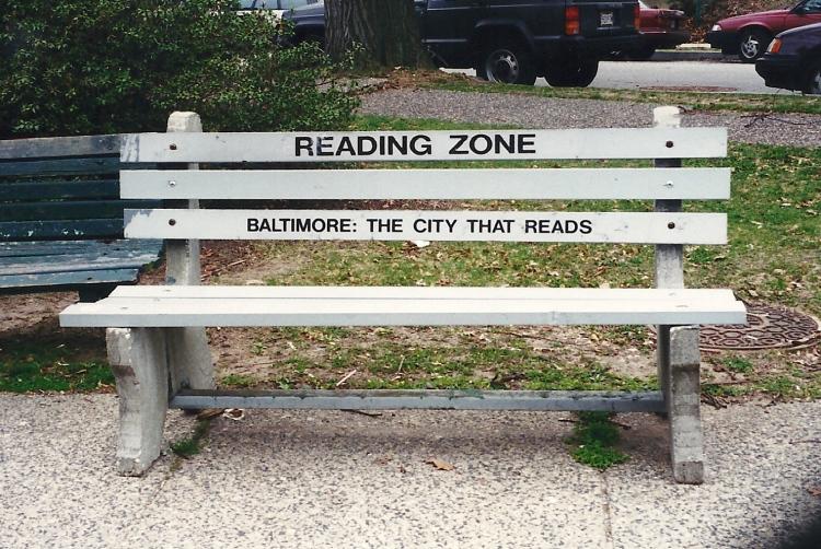 What, no book? Then scram!