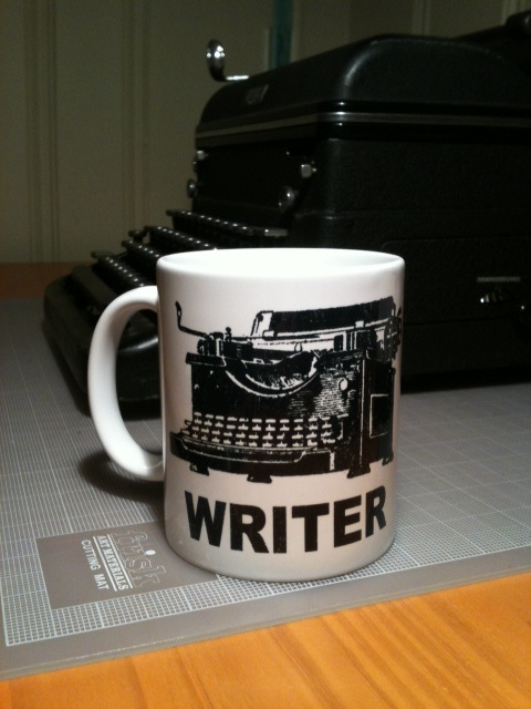 They don't give these mugs to just anybody! (Thanks again, Sarah W!)