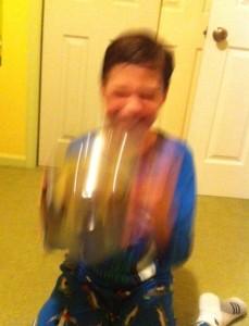 bucket shaking 4