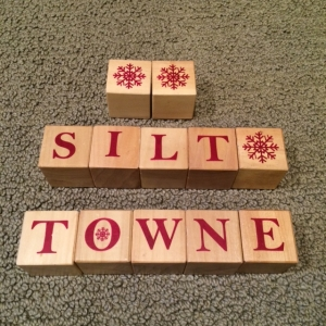 Blocks silt town