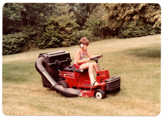 Photographic proof that Dad violated child labor laws.