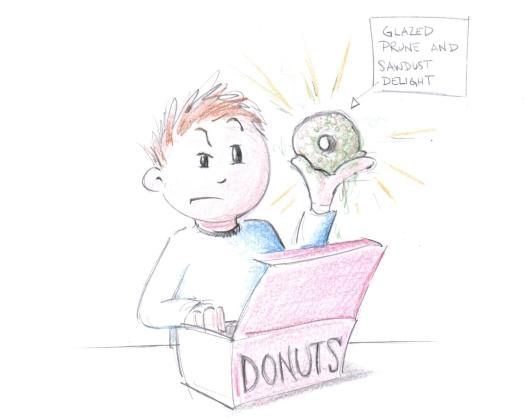 prune donut