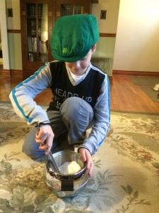 5. stirring...